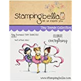 "Stamping Bella Cling Stamp 6.5""X4.5""-Tiny Townie Dancers Lia, Zia & Pia"