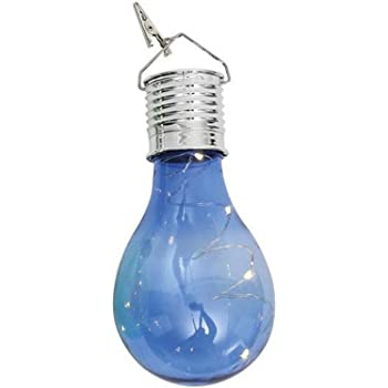 KEERADS LED Light Lamp Bulb, Waterproof Solar Rotatable Outdoor Garden Camping HangingLED Light Lamp Bulb