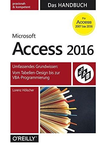 Access 2016 - Das Handbuch (XDB33)