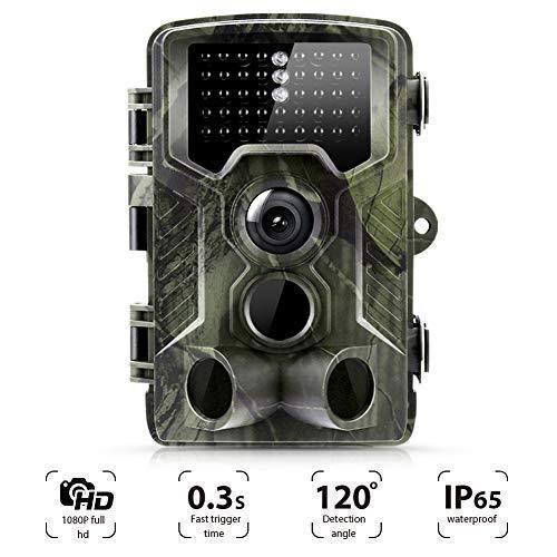 Suntek Camera de Chasse 16MP 1080P Trail Camera avec 42 Infrarouges de 940nm LED Vision Nocturne...