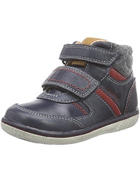 Geox B Flick Boy B - Zapatillas de Cuero para Niño