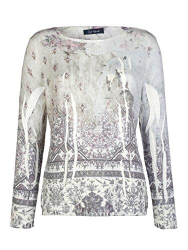 Damen Pullover mit Druck im Paisley-Dessin by Alba Moda Country-like