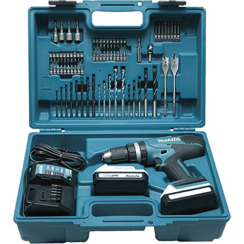 Makita HP457DWE10 Perceuse visseuse à percussion, 2 x 18 V 1,5Ah...