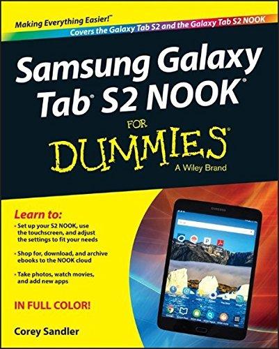 Produktbild Samsung Galaxy Tab S2 NOOK For Dummies by Corey Sandler (2015-12-21)