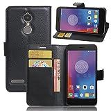 ECENCE Lenovo K6 Phone Case Cover Wallet Flip Magnet Bag