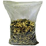 Wood For Smoking Food BBQ Wood Chips Sweet Chestnut 1 Litre - 4 Litres (4 Litres)