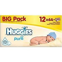 Huggies Puro Bebé Toallitas (64 Por Paquete ...