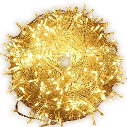 (10m LED Fairy String Lichter batteriebetrieben, 80 LEDS Lichterkette Lichterkette innen und außen für Weihnachten / Hochzeit / Party IP44)
