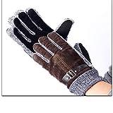 GXDHOME GXDHOME Skifahren warme Handschuhe Fäustlinge, Outdoor Winddicht, wasserdicht, atmungsaktiv, Rutschfest, für Bergsteigen, Wandern, Camping, Radfahren, Laufen (Unisex, Einheitsgröße)
