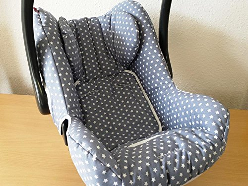 Kindersitz Bezug, Babysitzbezug, Babyschale Bezug Neu für Maxi Cosi City, Pepple, Cabrio Fix, Priori, Pearl, Sefety One, Hauck Zero, Recaro Privia, Römer King, Baby Safe, Cybex Anton