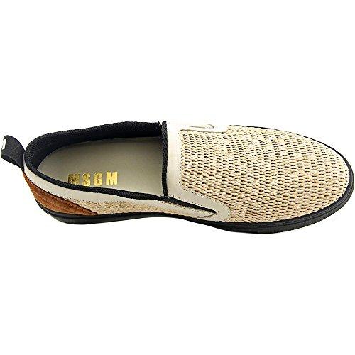 MSGM 800404192040MSO4 Rund Textile Slipper Dk Tan