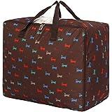 pormow plegable Oxford bolsa para edredones ropa Manta sudadera para envasado hrung, PEVN-091, XL(60*31*49CM)