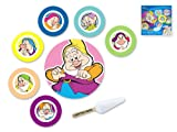 Disney 7 Nani Set per Dolce, Melamina, Multicolore, 8 Pezzi