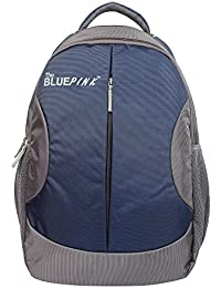 The Blue Pink Polyester 18 LTR Laptop Backpack with Adjustable Strap