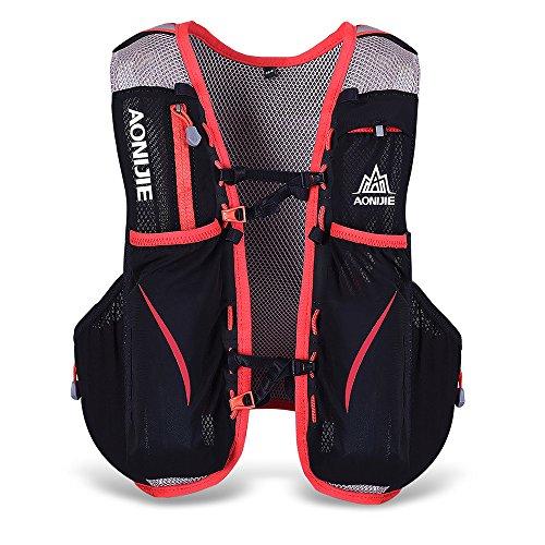 Lixada Gilet-sac à dos de sport 5 L, veste pour...