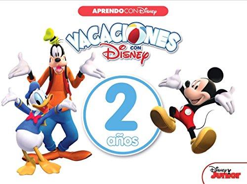 Vacaciones con Disney. 2 años (Aprendo con Disney) por Disney