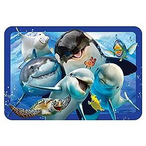 Howard HR40108 Robinson Selfie Ocean - Mantel Individual para niño