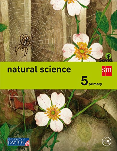 Savia, natural science, 5 Educación Primaria por BK Publishing, David Bradshaw, David Folkers