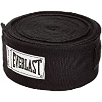 Everlast Boxing Hand Wraps - Black, 180 inch