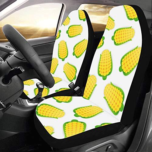 clur Benutzerdefinierte Neue Universal Fit Auto Drive Autositzbezüge Schutz Für Frauen Automobil Jeep LKW SUV Fahrzeug Full Set Zubehör Für Erwachsene Baby (Set Von 2 Vorne) ()