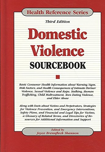 [(Domestic Violence Sourcebook)] [Edited by Ed. Joyce Brennfleck Shannon] published on (August, 2009)