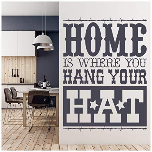 Silber Cowboy Hut - azutura Zuhause Hängen Sie Ihren Hut
