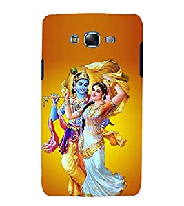 Vizagbeats radha krishna dance Back Case Cover for Samsung Galaxy J7::Samsung J7 2015