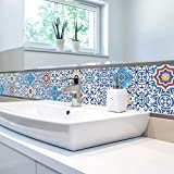 JY ART Fliesenaufkleber für Küche und Bad | Mosaik-Stil Designs Wandfliesen Aufkleber für Fliesen | Fliesen-Aufkleber Folie | Deko-Fliesenfolie (PG122), 20cm*5m
