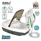 ELKOneb Respiplus EL-710 Piston Compressor Nebulizer Machine for Adult & Child with Complete