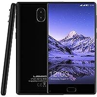 Smartphone in offerta 4g,Leagoo Mix,offerte telefoni,5.5'' FHD IPS Schermo,MT6750T,Octa-core 1.5 GHz, 13MP + 13Mp + 2MP tre fotocamera,3G RAM + 32G ROM ,3000mAh,Android 7.0 Telefoni Cellulari (nero)