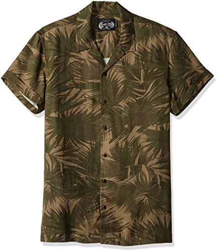 Scotch & Soda Herren Shortsleeve Tencel Shirt with Hawaii Collar Hemd, Combo a, XX-Large - Tencel-camp-shirt