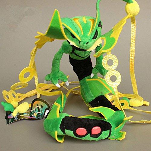 Pokemon Plüsch Mega-Rayquaza 88cm 35 (Mega-pokemon Plüschtiere)