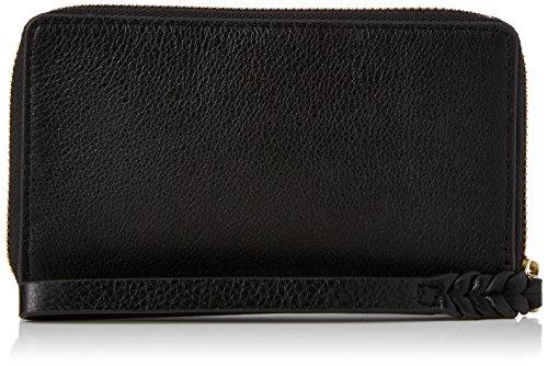 e Geldbörse, Schwarz (Black), 2x9.5x16 cm ()