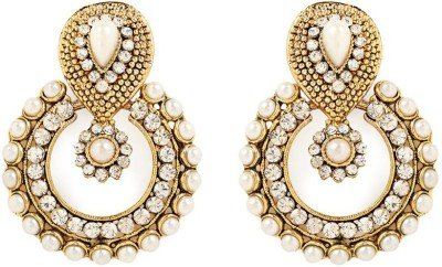 GoldNera Deepika Ramleela Alloy Drop Earring  available at amazon for Rs.309