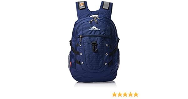 9ea4e4910 High Sierra Tactic Lap Polyester Navy Blue Backpack: Amazon.in: Bags,  Wallets & Luggage