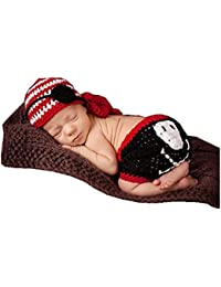 Fashion recién nacido niño niña bebé disfraz fotografía Props sombrero de  pantalones 4aa842df5da