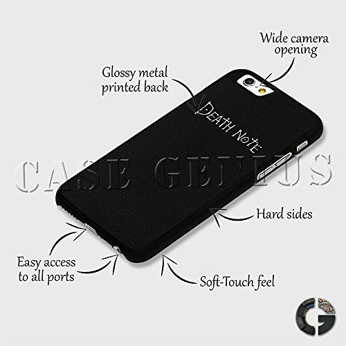 b6377c79e60 Death Note Supernatural Notebook Anime Hard Clip Phone Case Cover for  iPhone 7 Plus Black