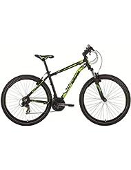 Barracuda Draco 2 Gentlemen 21sp Mountain Bike 27.5 (Matt Black)