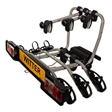 Witter Towbars ZX303EU - Portabici per 3 Biciclette, Impermeabile, ZX303