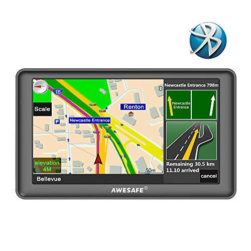 GPS Auto avec Bluetooth écran Ta...