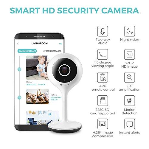 Zoom IMG-2 mini ip camera houzetek indoor