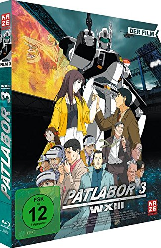 Patlabor 3 – Der Film (OmU) [Blu-ray]