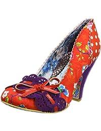 Irregular Choice Make My Day - Zapatos de Tacón con Punta Cerrada Mujer