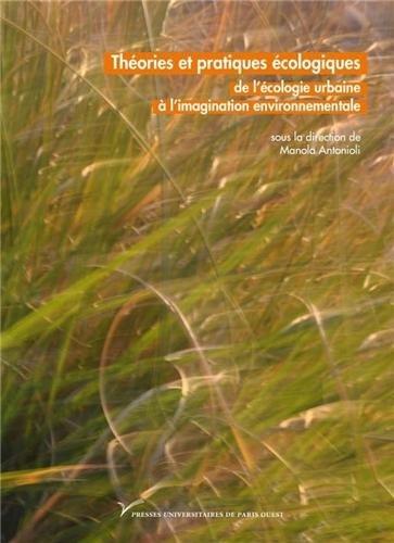 Théories et pratiques écologiques par Collectif