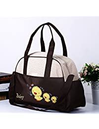Guru Kripa Baby Products™ Presents New Born Baby Multypurpose Mother Bag With Holder Diapper Changing Multi Comprtment...
