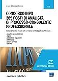 Concorso INPS. 365 posti di analista di processo-consulente professionale