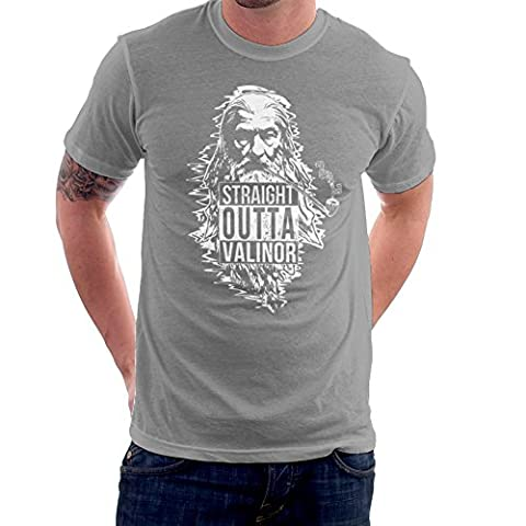 Straight Outta Valinor Gandalf Smoking Lord of the Rings Men's