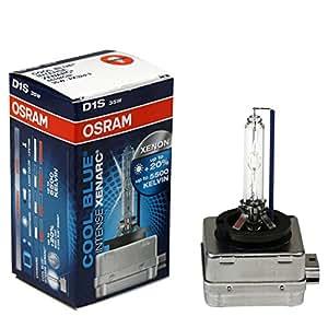 Osram D1S 66144CBI Xenarc Coolblue Intense 2 Ampoules 12V 35W PK32D-2 Ampoules véhicules automobiles