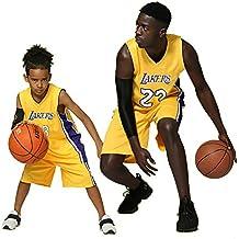 XCR Niños Chico Chicas Hombres Adulto NBA Lebron James #23 LBJ LA Lakers Retro Pantalones