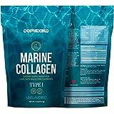 Collagene Idrolizzato Marino Premium Polvere - Pacco grande (425g) da Pesce del Nord Atlantico (No allevamento) Proteina Puro Peptidi per la Pelle, Capelli, Articolazioni e Digestione Made in Canada